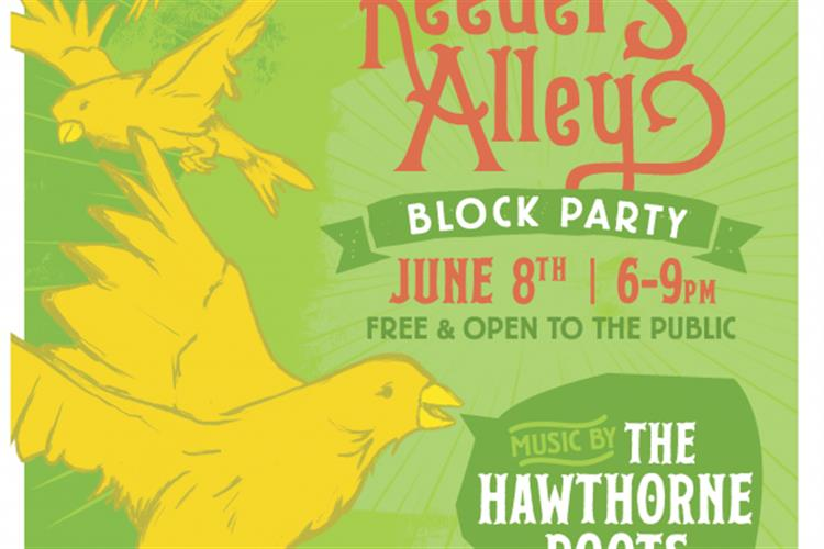 Reeder's Alley Block Party