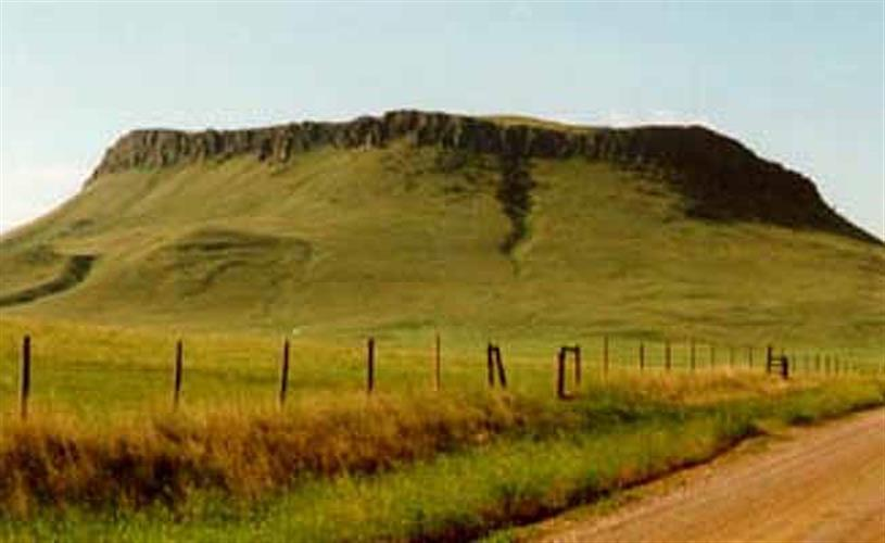 picture of the butte
