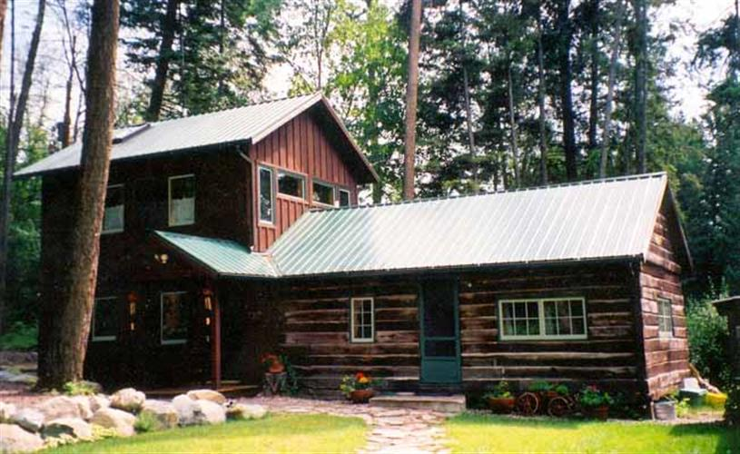 exterior of cabin