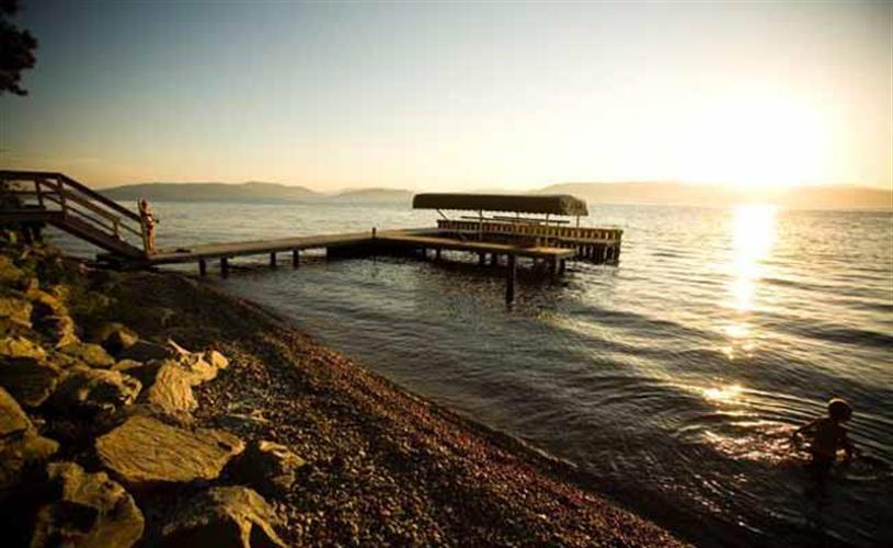 Flathead Lake beach