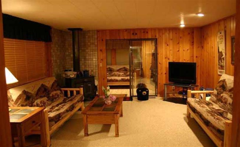 Bear Cabin livingroom