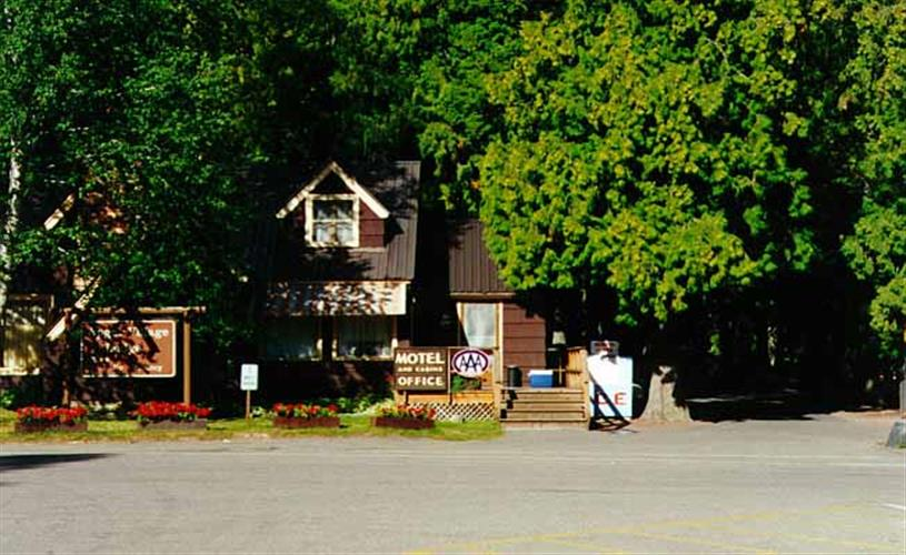 Apgar Village Lodge (West Entrance)