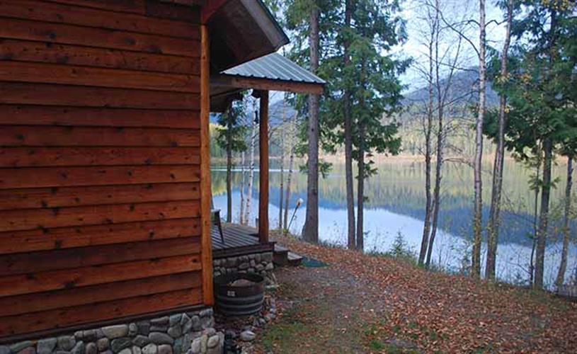 exterior looking at lake