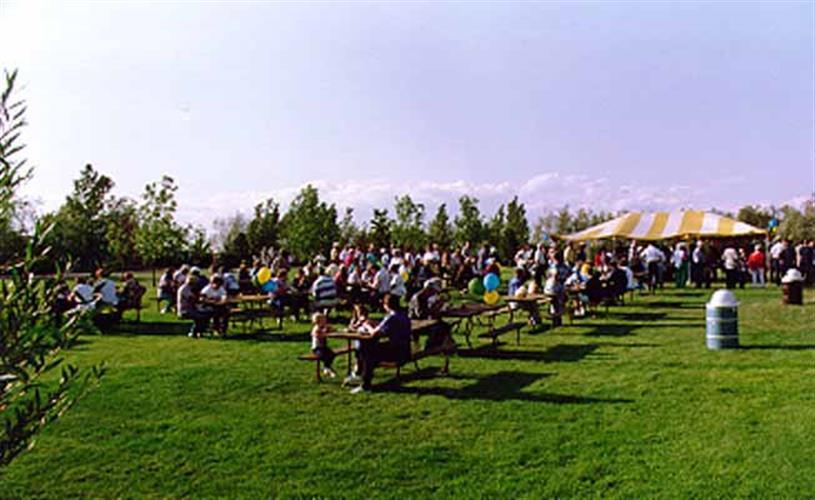 KOA campground - picnic
