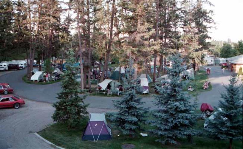 View of RV park