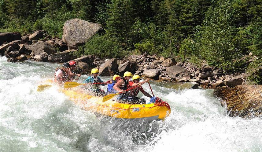 Great Bear Wilderness Whitewater Rafting