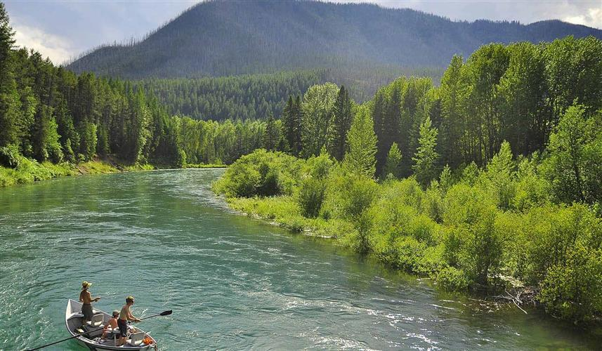 Glacier National Park Area Fly Fishing Montana