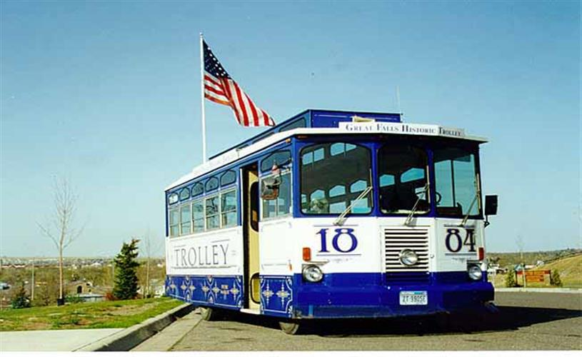 Great Falls Historic Trolley