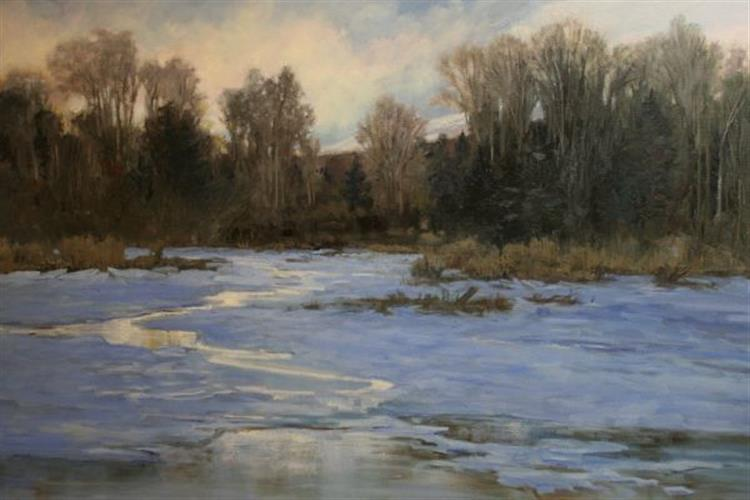 Carol Novotne's paintings are on display through Dec. 31 at the Holter Museum