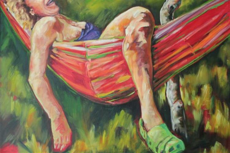 """Featured Artist – Terrel Jones """"Declining Nudes"""" – Jones' semi-nude series of mature women, inspired by their strengths and life experiences depict the effects of a variety of physical changes that come with the aging body. Like the variety found in personalities and life-experiences, Jones explores the female figure through multiple mediums, techniques, and grounds."""