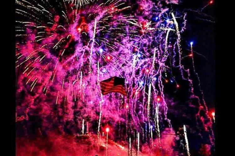Giant two-day fireworks show