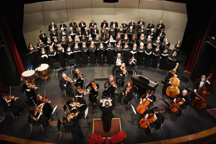 Glacier Symphony and Chorale at Flathead High School in Kalispell
