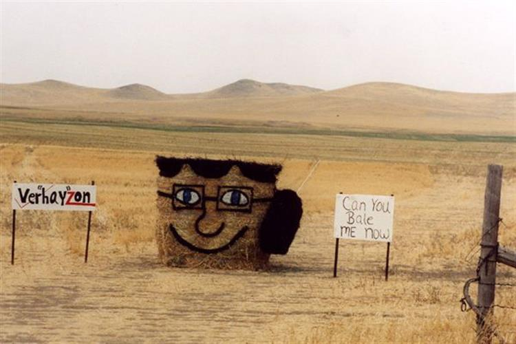 Montana Bale Trail   What the Hay