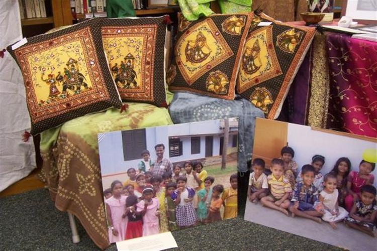 International art, crafts, clothing, jewelry, home decor are available.