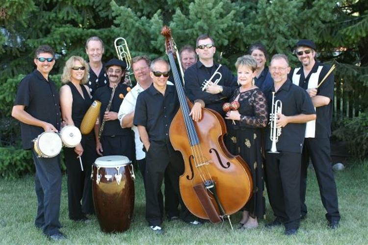 The Flathead's Latin jazz orchestra