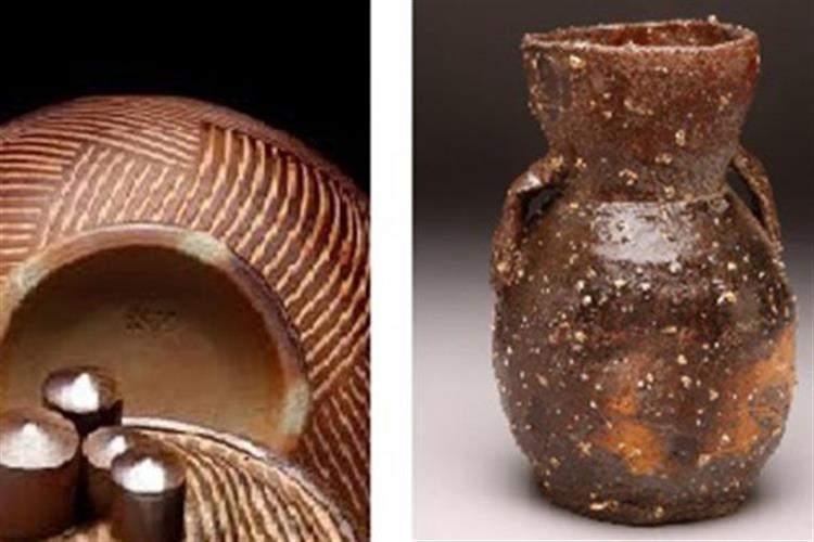 Pottery by George McCauley and Koichi Yamako