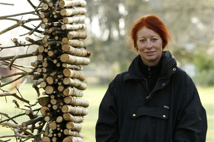 BPSW Artist in Residence Cornelia Konrads (Germany) will be at the sculpture park in Lincoln Sept. 10-28.