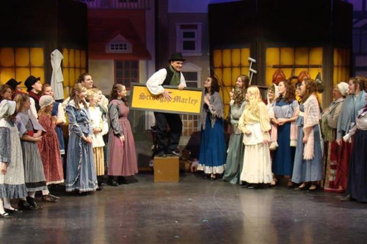 """A Christmas Carol"" returns to the Bigfork Playhouse stage."
