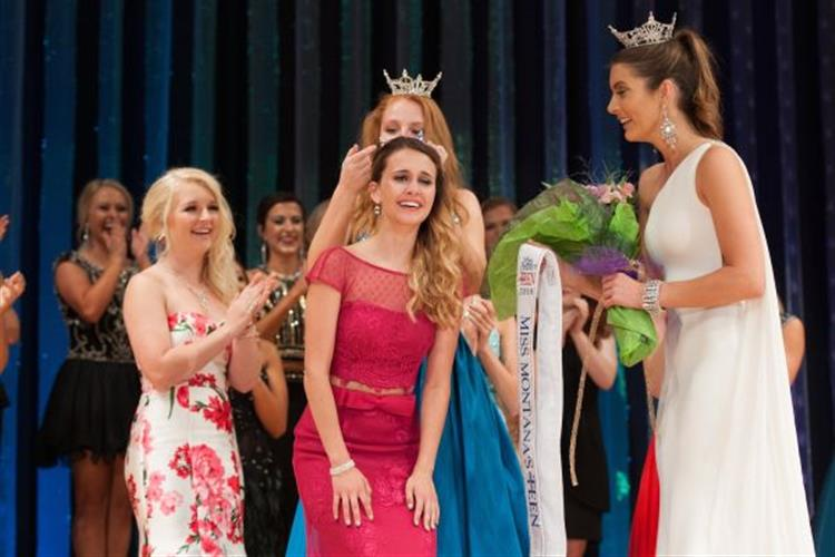 Cammy Heck of Sidney,16,  was crowned Miss MT Outstanding Teen 2018 last June and won $1000 scholarship and the chance to compete in Orlando.