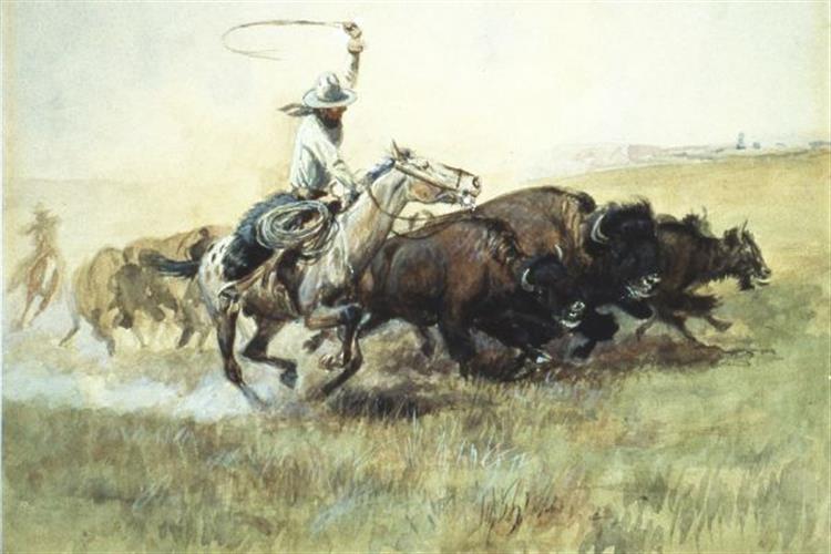 """Harmless Hunter: The Wildlife Art of Charles M. Russell"""