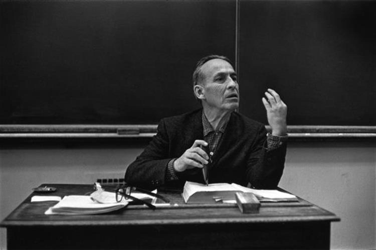 Norman Maclean teaching at the University of Chicago